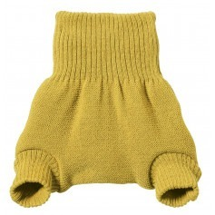 Culotte shorty Curry en laine mérinos bio - Disana