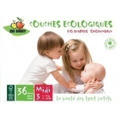 Couches jetables Bio Babby 4/9 kg