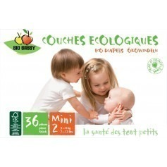 Couches jetables Bio Babby 3/6 kg