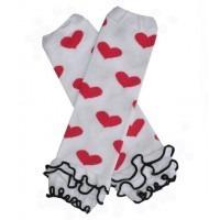 Babylegs Frous-Frou rouge coeur