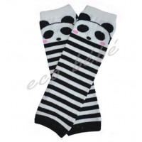 Babylegs Rayé noir panda