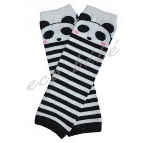 Jambières Rayé noir panda