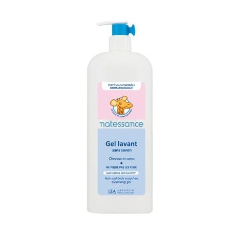 Gel Lavant Bebe Naturel 500 ml