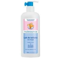 Lait de toilette sans rinçage Bebe Naturel 400 ml