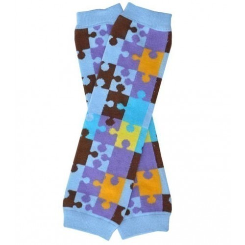 Jambières Puzzle Bleu