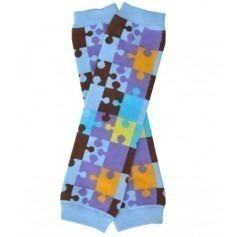 Babylegs Puzzle Bleu