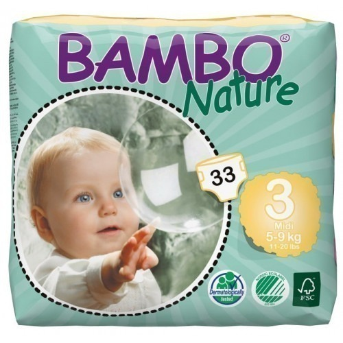 Couches Bambo Nature 5/9 kg