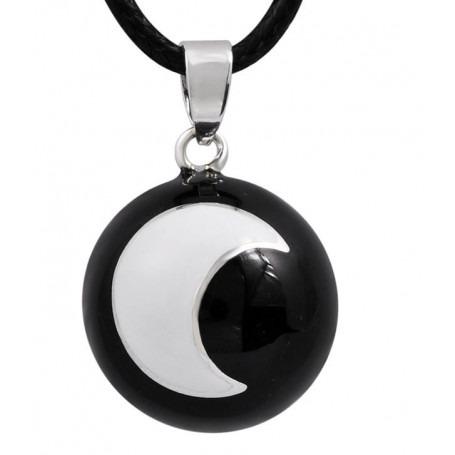 Bola de Grossesse Noir lune blanche