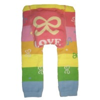 Legging bébé Love noeud