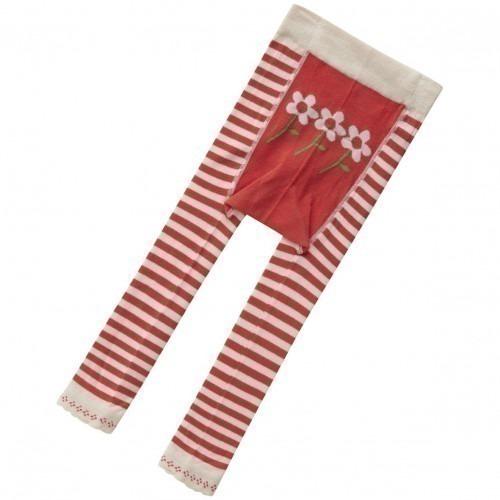 Leggin Piccalilly coton Bio Rouge fleur