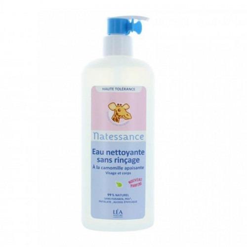Eau nettoyante sans rinçage Bebe Naturel 500 ml