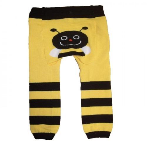 Legging bébé Abeille jaune