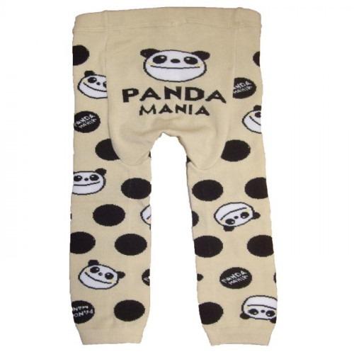 Legging bébé Panda à pois