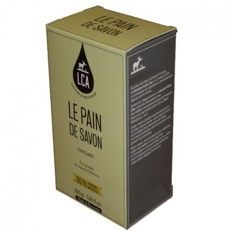 Pain de savon exfoliant 200 gr