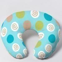 Coussin d'allaitement Napilo Bleu cercle