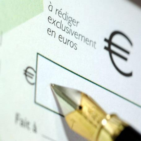 Chèque de caution de 99€ à envoyer (non encaissé)
