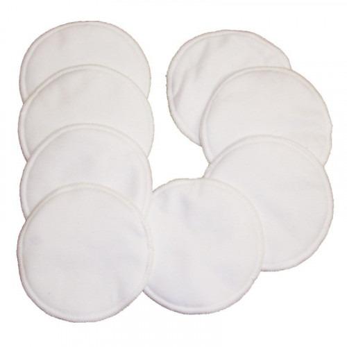 10 coussinets d'allaitement lavables