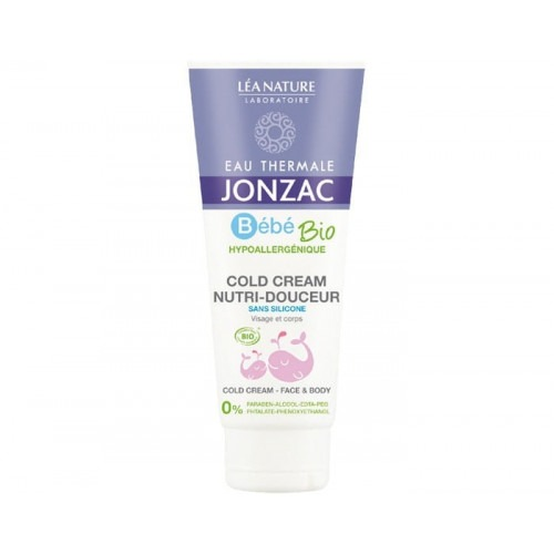 Cold Cream bio à l'eau thermale de Jonzac 100 ml