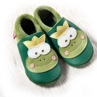 Chausson cuir Pololo Frog