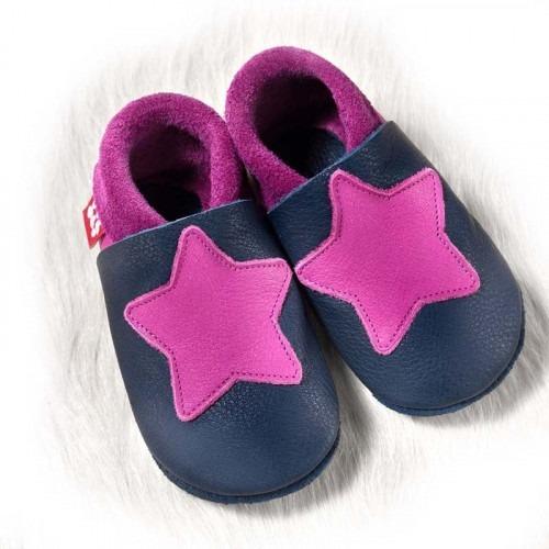 Chausson cuir Pololo Star