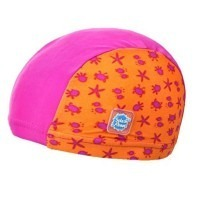 "Bonnet anti UV ""star rose"""