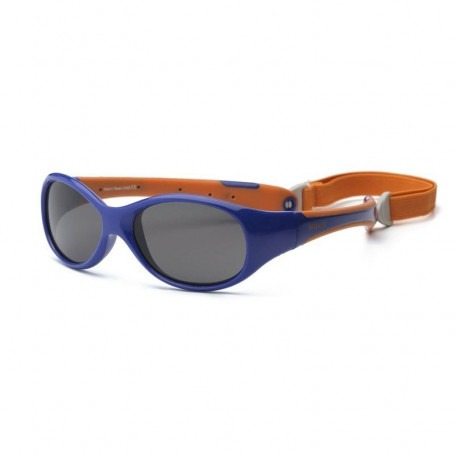 Lunette de soleil Explorer Bleu & orange