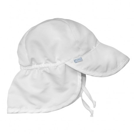 Chapeau Saharienne anti UV Blanc