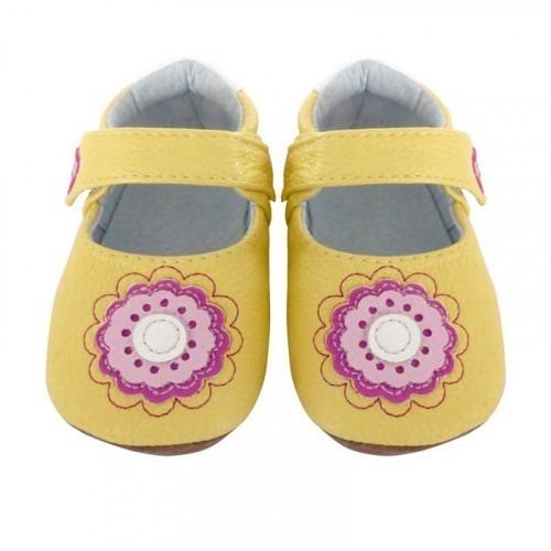 Chaussures cuir souple J&L Fleur