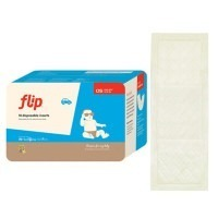 Paquet de 18 inserts jetables pour couches lavables