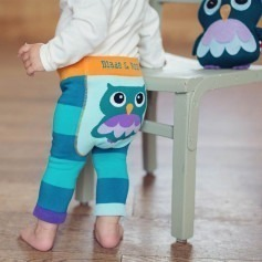 Legging Blade and Rose Oheo Owl