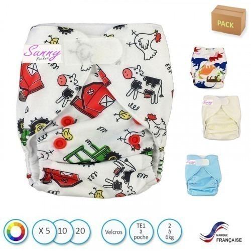 Pack Mini SunnyPocket (2 à 6kg)