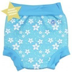 Maillot couche Splash Blossom bleu