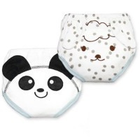 Lot de 2 culottes d'apprentissage Panda/Mouton