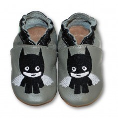 Chaussons cuir souple Boom