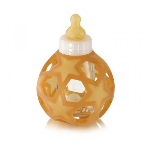 Biberon blanc Hevea avec star ball 120 ml