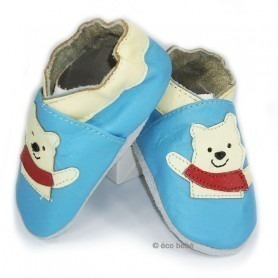 Chaussons cuir souple Winnie