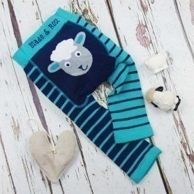 Legging Blade and Rose mouton