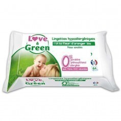 64 lingettes Love and green