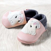 Chausson cuir pololo Licorne