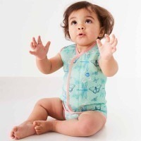 Baby wrap anti UV papillon