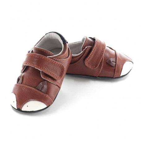 Chaussures cuir souple Jack & lily Viggo