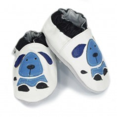 Chausson cuir souple Dog
