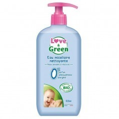 Eau nettoyante love and green 750ml