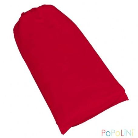 Echarpe de portage Bio Popolini rouge