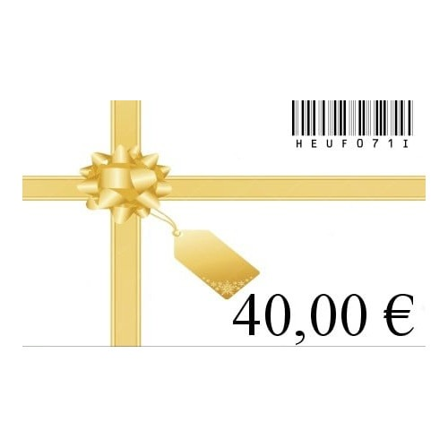 Carte cadeau 40€