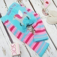 Legging Blade and Rose Licorne