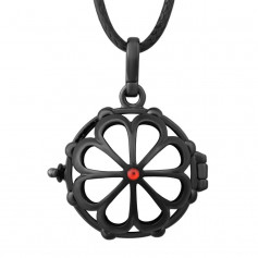 Bola Cage Black Point Red