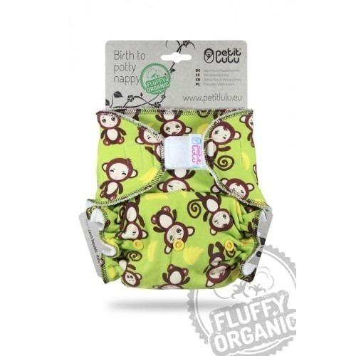 Couche lavable à Velcros Taille Unique Petit Lulu