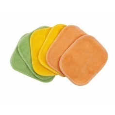 Lot de 6 lingettes lavables Bio