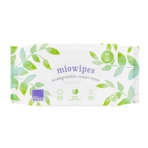 Lot de 60 lingettes biodégradables MioWipes
